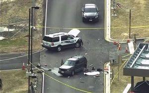 Markas Mata – mata AS Diterobos Mobil Tidak Dikenal, 1 Orang Tewas 2 Lainnya Terluka