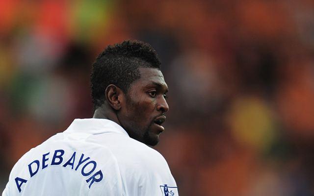 Striker Tottenham Emmanuel Adebayor Memeluk Islam