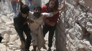 Jet Tempur Rusia dan Assad Bunuh 224 Warga Sipil di Pekan Pertama Ramadhan