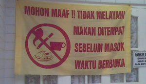 MUI Banten: Menghormati Orang Puasa adalah Adat Masyarakat Banten