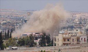 Rezim Syiah Assad Membom Aleppo di Hari Idul Fitri