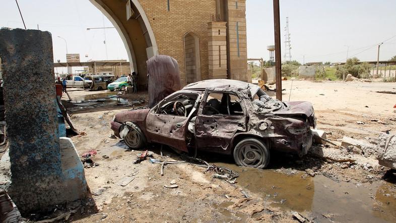 Serangan Bom Hantam Pos Pemeriksaan di Baghdad, 12 Tewas