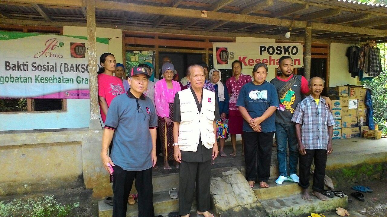 Syawalan, IMS Gelar Layanan Kesehatan Gratis untuk Korban Erupsi Sinabung dan Longsor Purworejo