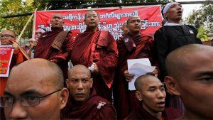 Myanmar: Biksu Anti Islam Hina Pejabat Tinggi PBB