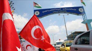 Truk Bantuan Kemanusian Turki Tiba di Gaza Terus Bertambah