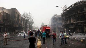 151 Orang Tewas dalam Serangan Bom di Pusat Perbelanjaan Kota Baghdad