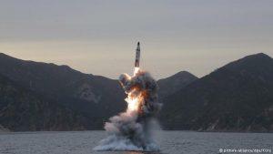 Korea Utara Lakukan Uji Coba Rudal dekat Wilayah Jepang