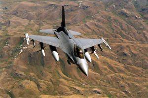 Jet Tempur F 16 AS Jatuh di Las Vegas