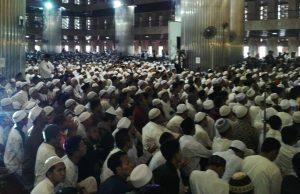 Silaturahmi Akbar di Masjid Istiqlal Dihadiri Puluhan Ribu Umat Islam
