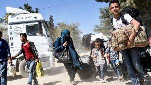 Lebih dari 7.700 Pengungsi Suriah di Turki Kembali ke Kota Jarabulus