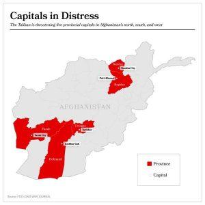 Taliban Kuasai 5 Ibukota Provinsi di Afghanistan