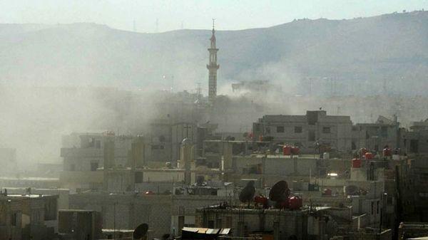 Ibukota Rezim Assad Digempur Serangan Artileri