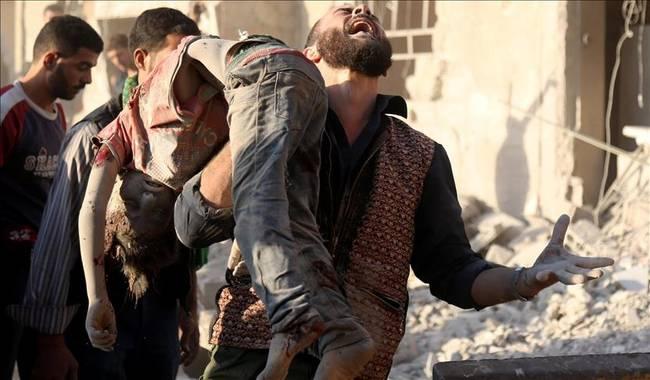 Dalam 6 Bulan Rezim Syiah Assad dan Rusia Bunuh 1.793 Warga Sipil Suriah