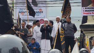 Aksi di Solo Raya Mendesak Kepolisian untuk Tidak Tebang Pilih Menjalankan Roda Hukum