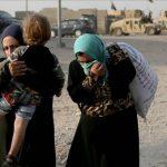 Lebih dari 3.800 Warga Sekitar Mosul Mengungsi