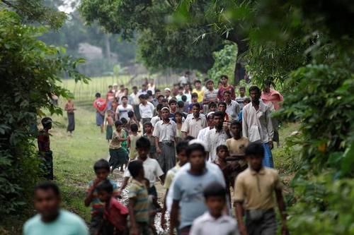 Aktivis Myanmar: Kurang dari Sepekan 800 Muslim Rohingya Dibunuh