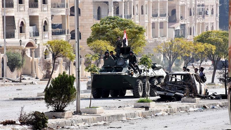 Setelah Membombardir Rumah Sakit dan Warga Sipil, Pasukan Assad Kini Maju ke Aleppo Timur