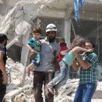 150 Serangan Udara dan 1200 Tembakan Artileri Suriah-Rusia Bunuh 25 Wanita dan Anak-anak Aleppo