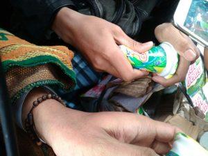 Sejumlah Peserta Aksi 212 Keracunan Setelah Minum Air Teh Kemasan