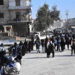 100 Pengungsi Warga Sipil Aleppo Hilang setelah Memasuki Wilayah yang Dikuasai Pasukan Assad