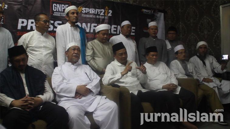 Jelang Sidang Ahok, GNPF MUI: Pemerintah Jangan Main-main, Rakyat Tidak Punya Pilihan Lain