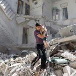 Lebih dari 100 Anak-anak Terperangkap dalam Bangunan di Aleppo