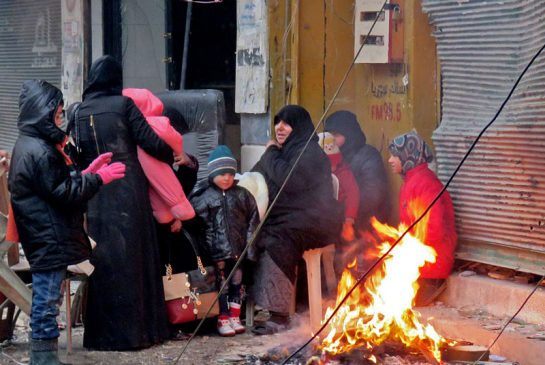 Kemenlu Turki Kecam Pembantaian Warga Sipil Aleppo oleh Rezim Assad