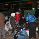 Konvoi ke-3 Rombongan Pengungsi Aleppo Tiba di Benteng Mujahidin di Idlib