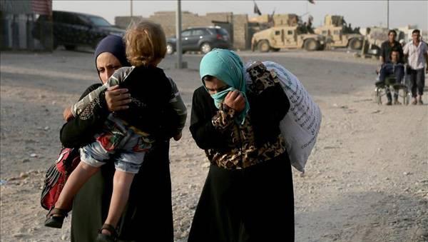 Ini Kabar Terakhir Pengungsi Warga Sipil Kota Mosul