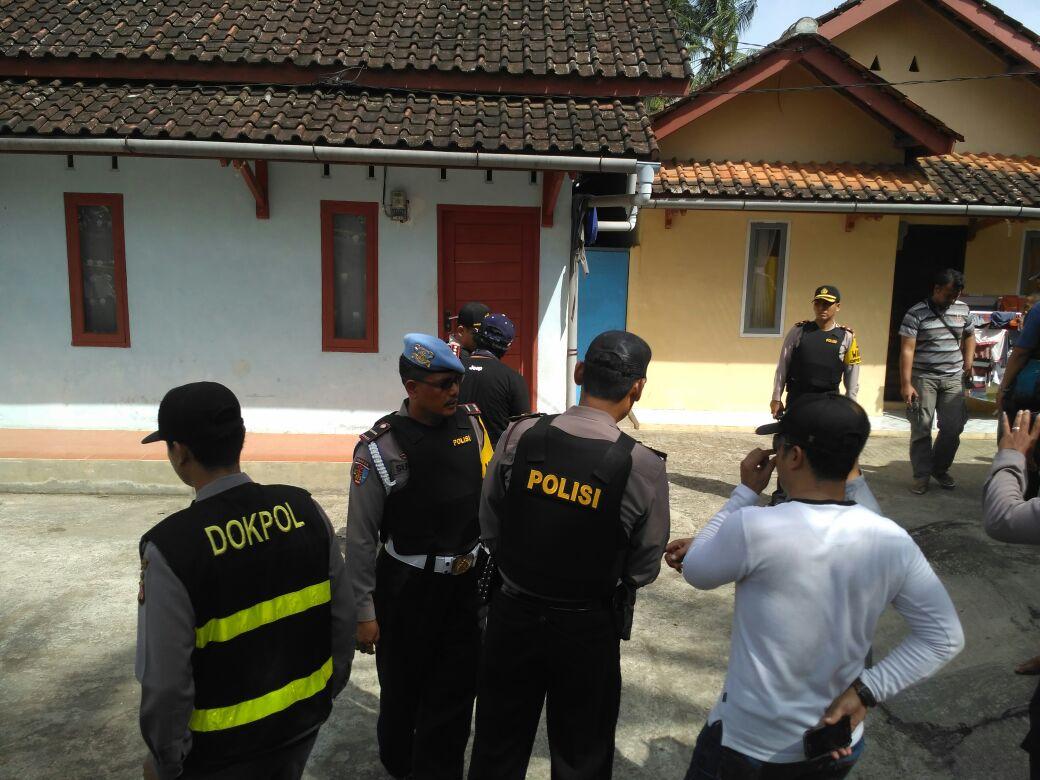 Kontrakan Terduga Teroris Digeledah 'Habis' Kepolisian Tasikmalaya