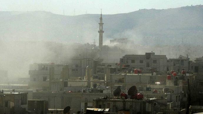 Serangan Mematikan Pejuang Ghouta Targetkan Pos Militer Rezim Assad di Ibukota Suriah
