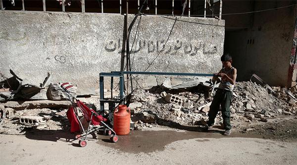PBB: Assad Menargetkan Sumber Air di Damaskus adalah Kejahatan Perang