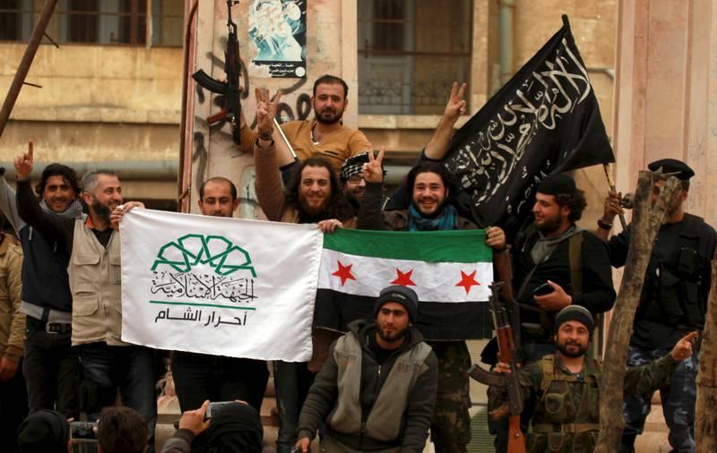 Faksi-faksi pejuang Suriah di Idlib