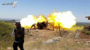 Faksi Faylaq al Rahman Pukul Mundur Serangan Pasukan Assad di Midaani, 2 Tank Hancur
