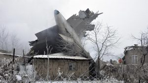Pesawat Kargo Turki Jatuh di Daerah Perumahan, 37 Tewas