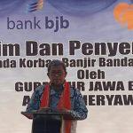 Kunjungi Bima, Gubernur Ahmad Heriawan Salurkan Bantuan untuk Korban Banjir