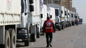 Lebih dari 700 Truk Bantuan Kemanusian Turki Dikirim ke Suriah