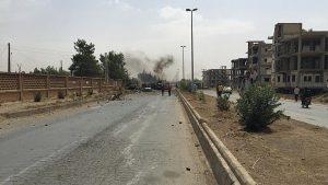 Ledakan Bom Hantam Kamp Pengungsi Suriah di Perbatasan Yordania