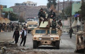 Militer Irak: Kini Mosul Timur telah Dikuasai