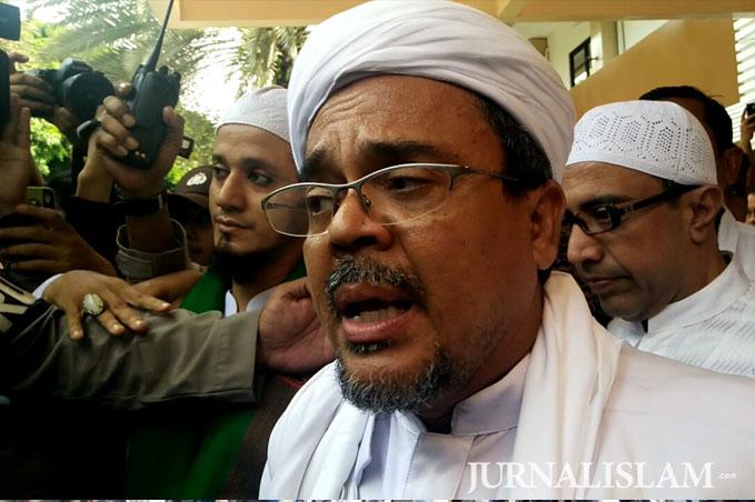 Habib Rizieq Akan Laporkan Penyebar Video 'Fitnah' Dirinya