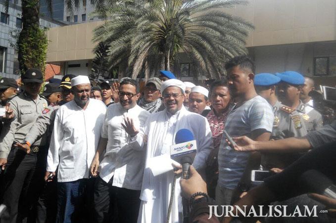 Diperiksa Sebagai Saksi, Habib Rizieq Dicecar 23 Pertanyaan Soal Rectoverso