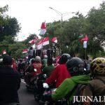 Massa Kotak-kotak di Surabaya Tolak Ulama dan Tuntut Pembubaran FPI