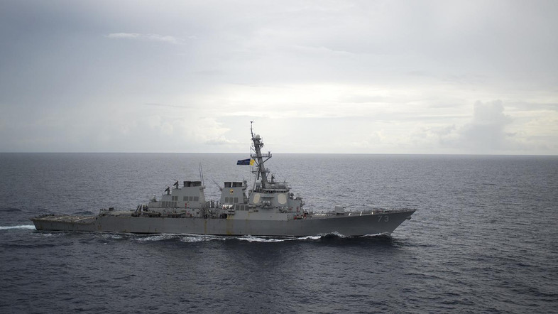 AS Tempatkan Kapal Perangnya di Lepas Pantai Yaman
