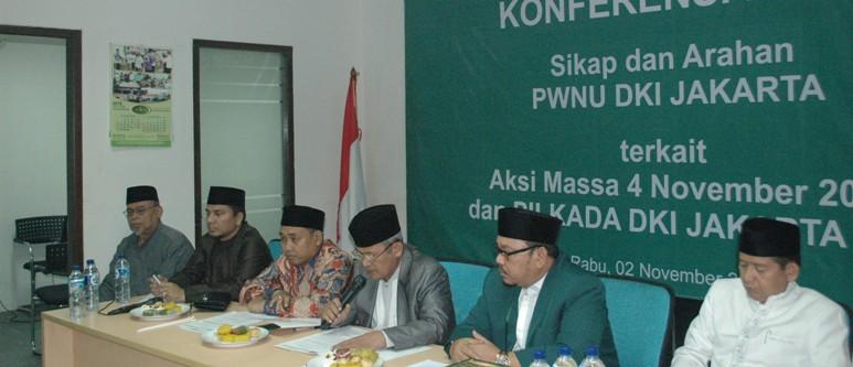PWNU DKI Jakarta Akan Tindak Tegas Pengurus yang Aktif di Istighosah Bersama Ahok