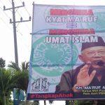 Kecam Ahok, DKM Masjid di Weleri Pasang Baliho Dukungan untuk KH. Ma'ruf Amin