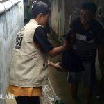 FUIS Bagikan Ratusan Nasi Bungkus Untuk Korban Banjir Semarang