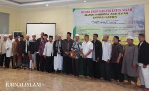 Deklarasi ANNAS Banten, KH. Athian Ali: 'Semoga Tidak Ada Syiah di Banten'