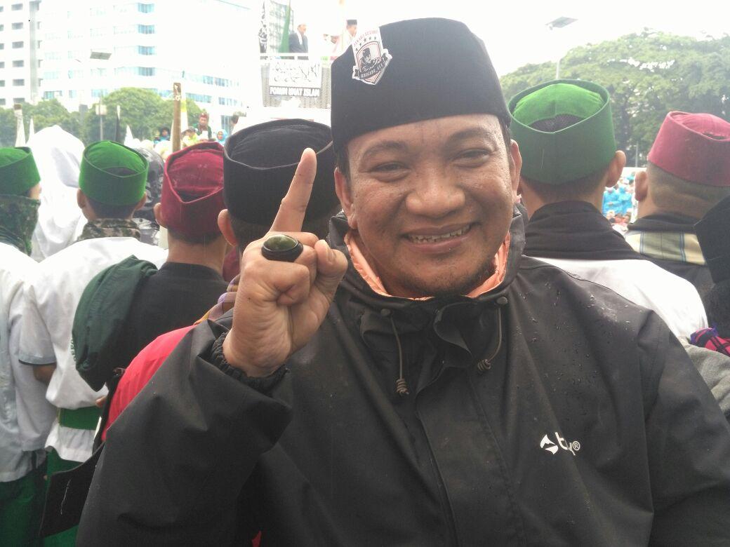 Unjuk Atraksi Silat di Aksi 212 Jilid 2, Jawara Betawi: Kami Siap Jaga Ulama dan NKRI