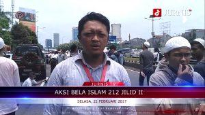 Aksi 212 Jilid II, 21 Februari 2017 di Gedung DPR/MPR RI