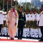 Raja Salman Beserta Rombongan telah Tiba di Malaysia, Rabu ke Indonesia